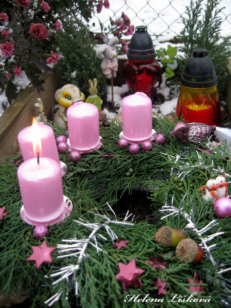 Kellynčin hrobeček - první adventní neděle 2010